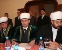Слева направо: муфтий Красноярского края, республики Коми, Карелии