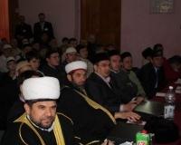 Почетные гости конкурса чтецов Корана
