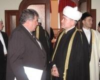 Председатель СМР Р. Гайнутдин и помощник полномочного представителя президента в Приволском федеральном округе А. Пыков