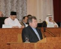 Приветствие помощника полномочного представителя Президента РФ в Приволжском федеральном округе А. Пыкова.