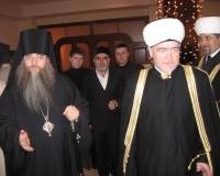 Председатель СМР Р.Гайнутдин и епископ Саратовский и Вольский Лонгин