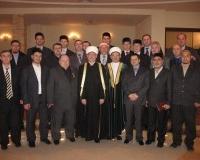 Председатель СМР Р.Гайнутдин с организационным комитетом выездного заседания совета муфтиев России