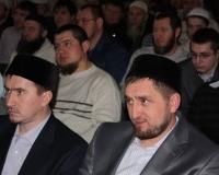 Главные организаторы конкурса Ислам-хаджи Дашкин и Рашид-хаджи Куряев