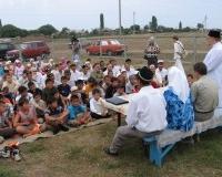 Открытие детского мусульманского лагеря при мечети в Ровенском районе