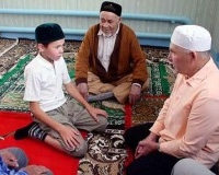 Мусульманский детский лагерь в Соборной мечети г.Энгельса