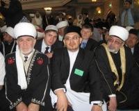 Слева направо: муфтии Астраханской, Саратовской и Нижегородской областей.