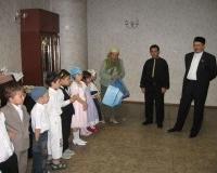Награждение юных участников викторины