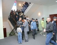 Пятничная молитва в с соборной мечети г. Саратова