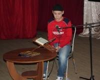 Виктор Ветинов из Ершова знает 20 сур и занял 3 место