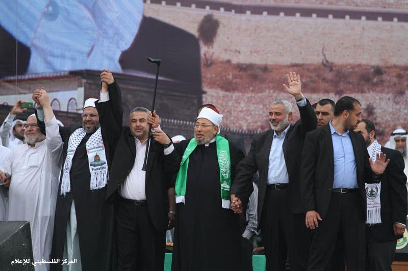 Кардави в Газе