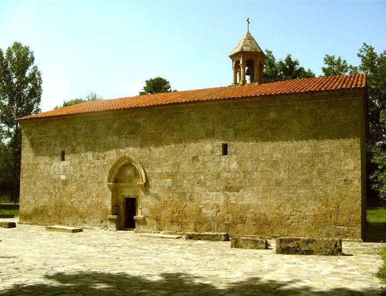 Церковь мученика Елисея (Чотари) в селе Нидж, Азербайджан