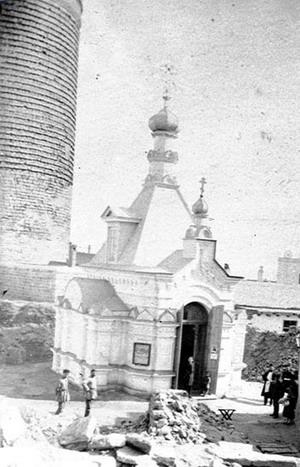 Часовня апостола Варфоломея, сооруженная на месте предполагаемой гибели проповедника