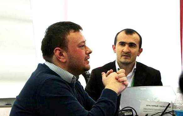 Актер Даниель КАЙГЕРМАЗОВ и тренер Магомед ПАРАГУЛЬГОВ