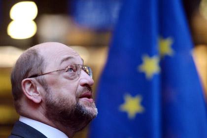 Спикер Европарламента Мартин Шульц