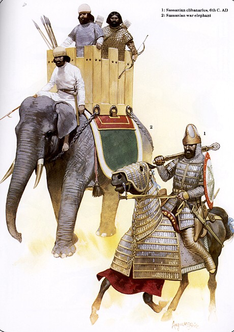 Сасанидские воины