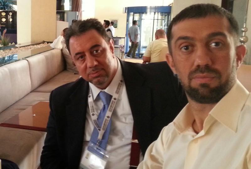Руслан Курбанов и Луай Юсуф на Генассамблее ВСМУ