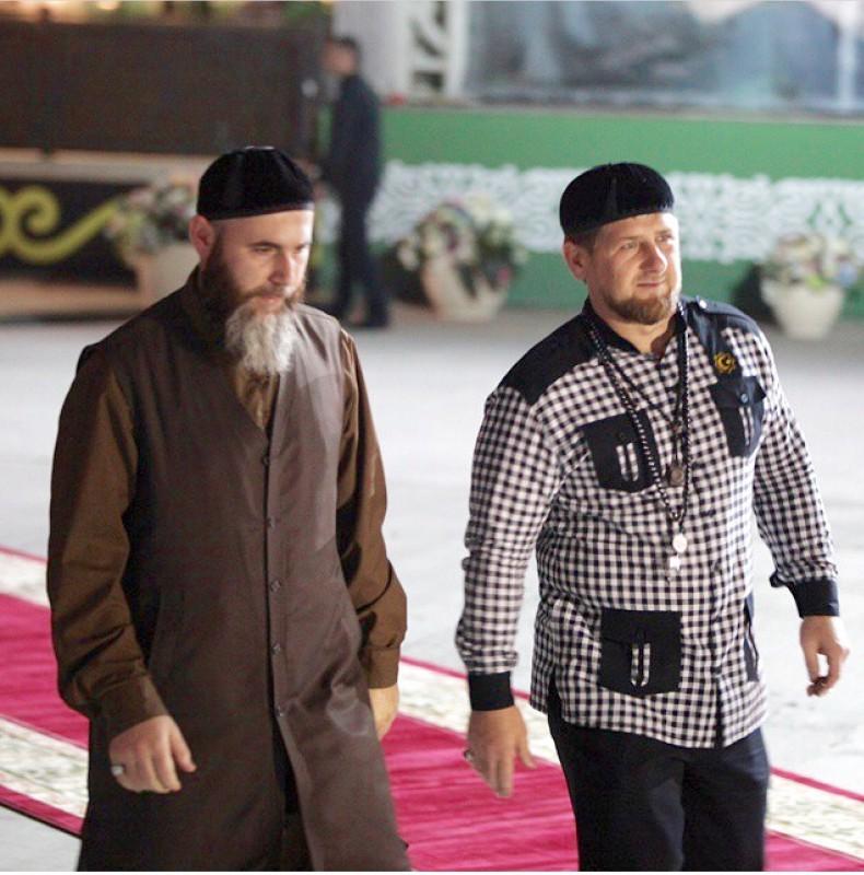 Рамзан Кадыров и Салах-хаджи Межиев