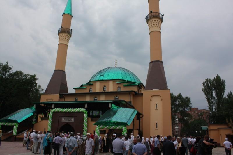 Соборная мечеть г.Донецка, 2012 г