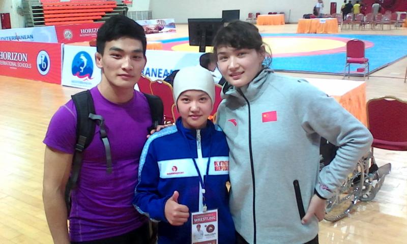 На чемпионате Азии среди юниоров в Мьянме (2015 год)